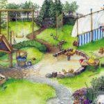 Детская площадка для личного загородного участка